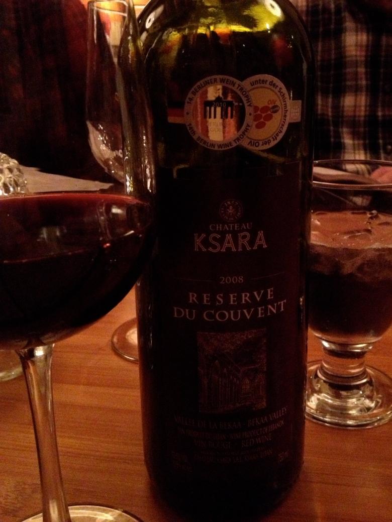 Lebanese Red Wine