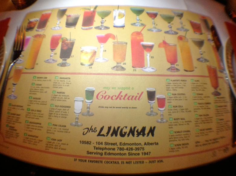 Drink placemat