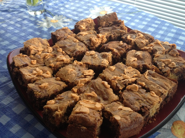 Brownie-blondies