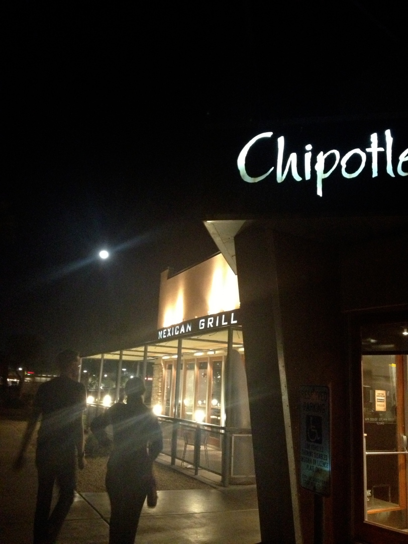 Chipotle at Night