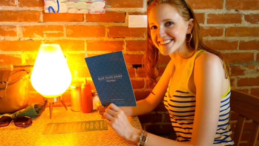 Robyn at the Blue Plate Diner