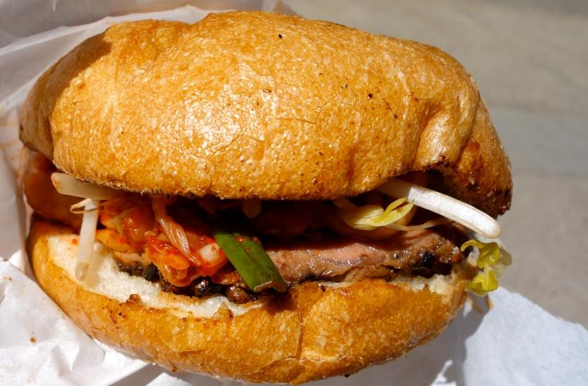 Bulgogi Flank Steak Sandwich