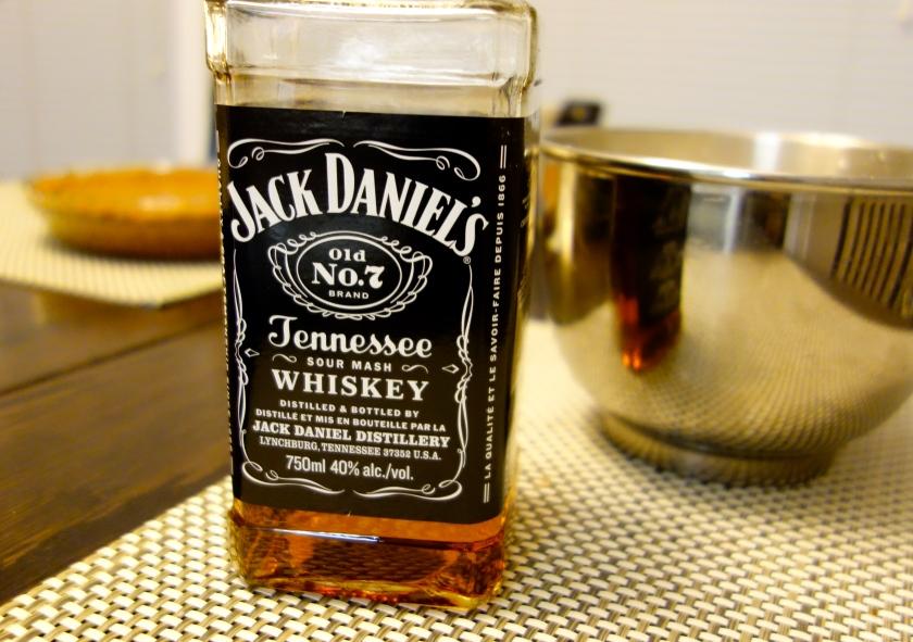 Jack Daniels for Whipped Cream