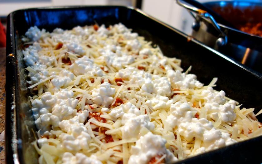 Making the Lasagna