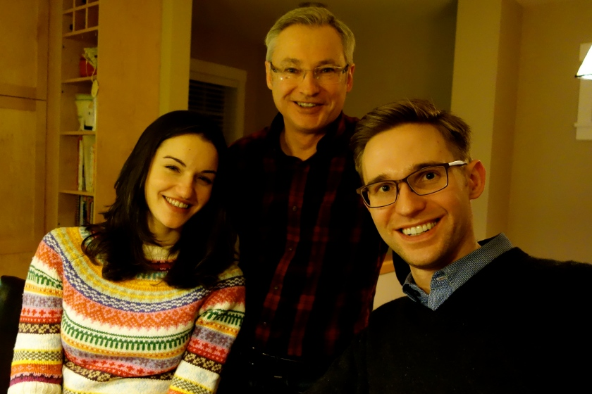 Family on Christmas Eve