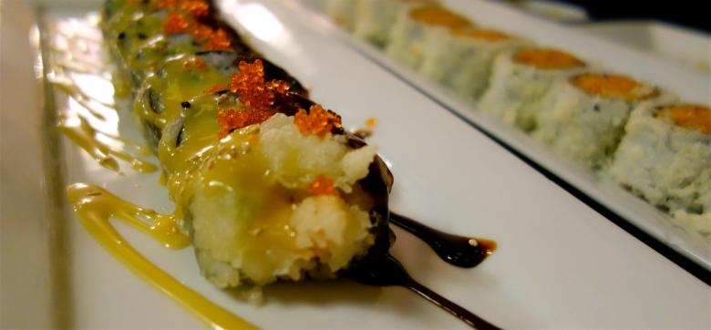 Mango Fry Roll & Kamikaze Roll