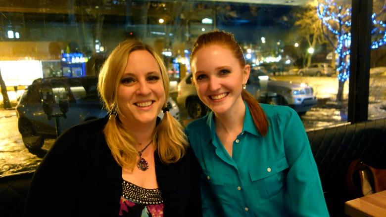 Robyn and Karlynn