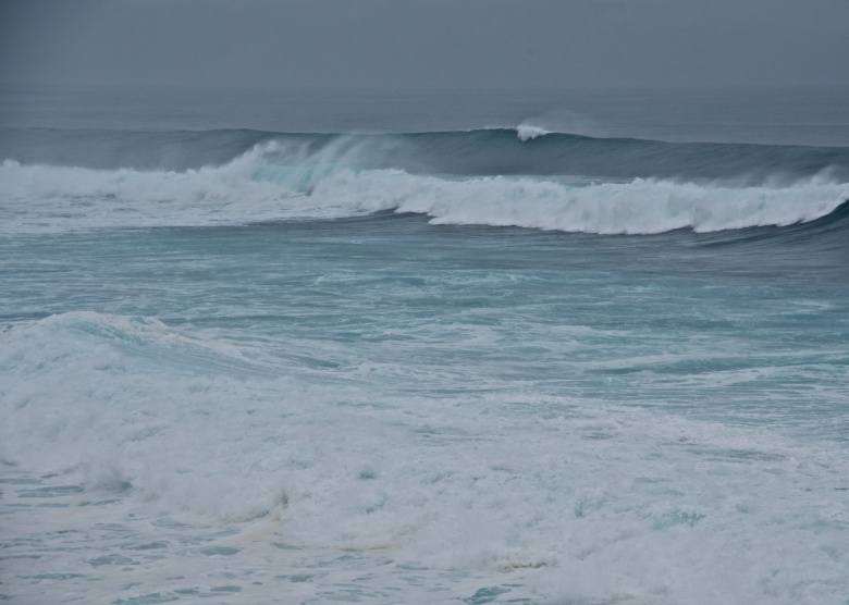 Surf at Ho'okipa Beach