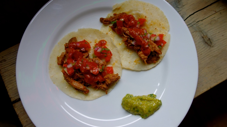 Slow Roasted Lamb Tacos