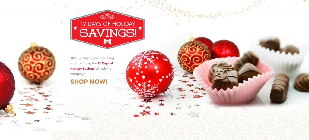 12 Days Of Holiday Savings Banner