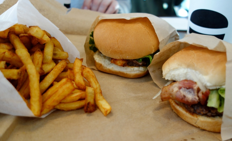 Fries and Burgers