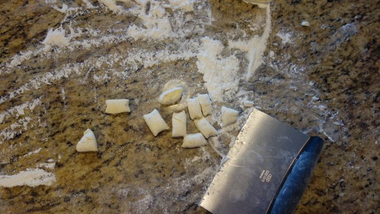 Cutting the Gnocchi