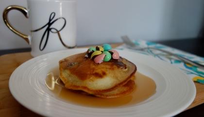 Mini Egg Pancakes