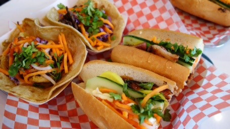 Bahn Mi and Tacos