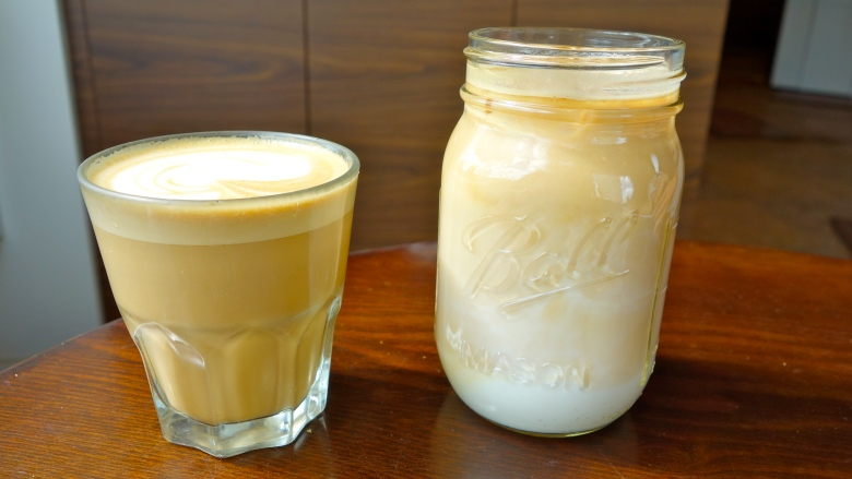 Flat White and Iced Latte